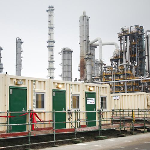 Blast resistant Units die beschermen tegen explosies