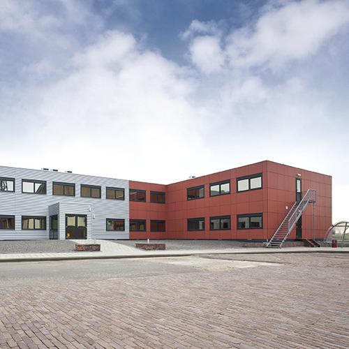 Kantoorunits gebouw van Jan Snel